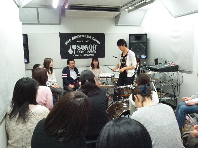 町田 ザ・ドラムフェア SONOR Presents ドラムクリニック&トークライブ